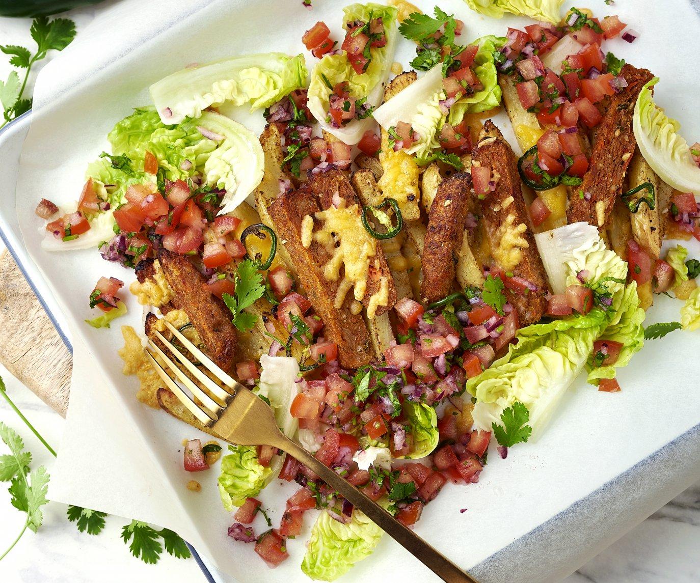 Veggie Mexicaans kapsalon