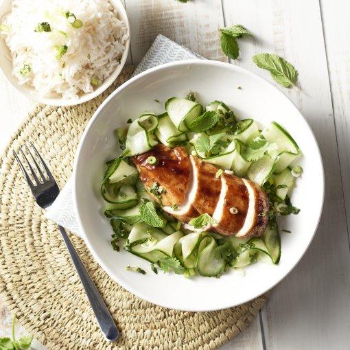 Vietnamese kip met hoisin saus