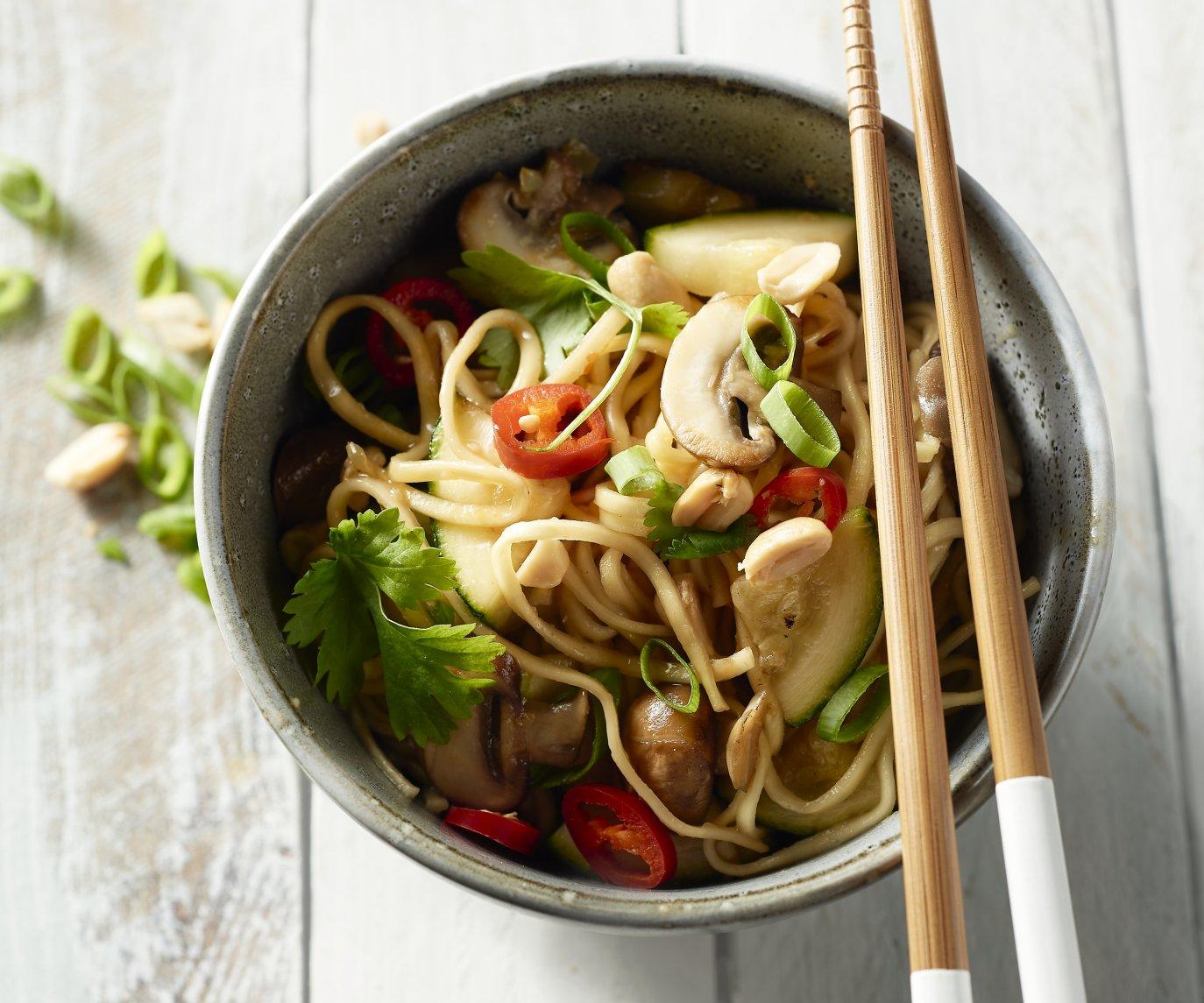 One pot Thai noedels