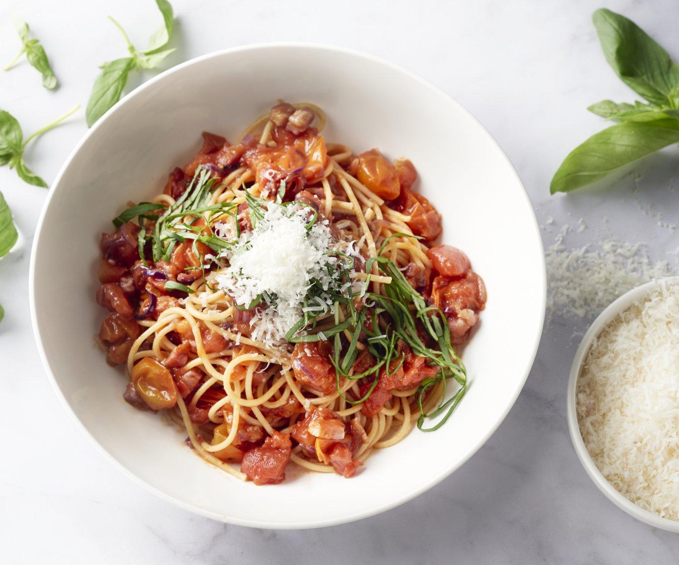 Spaghetti all'Amatriciana