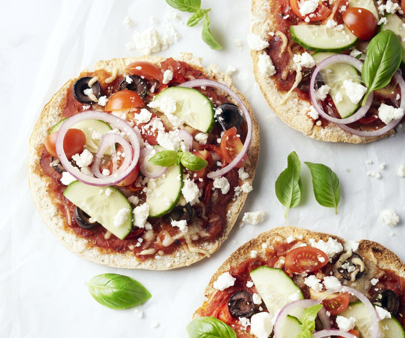 Griekse pizzetta's