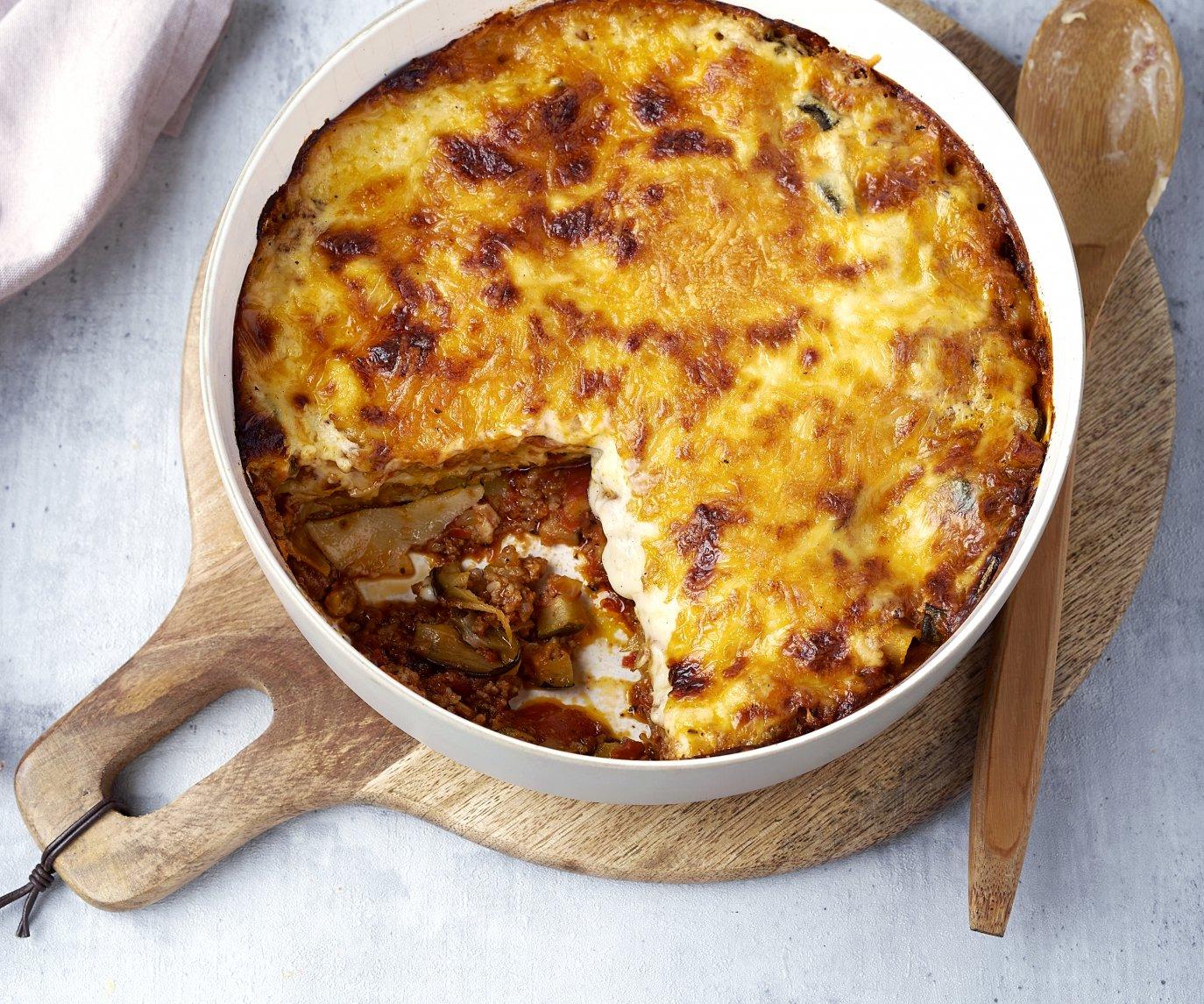 Moussaka lasagne
